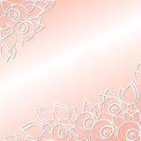 Графически флористическая предпосылка на праздники Стоковые Изображения RF