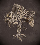 Графическое дерево Стоковая Фотография