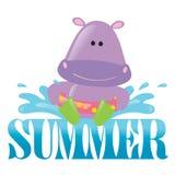 графическое лето выплеска 3 Стоковые Фото