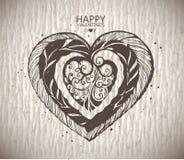 Графическое сердце Стоковые Изображения