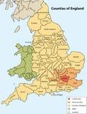 графства Англия иллюстрация штока