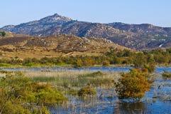 Графство заболоченных мест, San Diego, Калифорния Стоковые Изображения RF