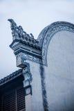 Графство реконструкции графства Хубэй Badong Стоковое Фото