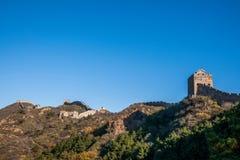 Графство Luanping, Великая Китайская Стена Хэбэя Jinshanling Стоковое фото RF