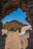 Графство Luanping, Великая Китайская Стена Хэбэя Jinshanling Стоковая Фотография
