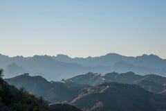 Графство Luanping, Великая Китайская Стена Хэбэя Jinshanling Стоковые Фотографии RF