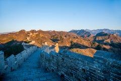 Графство Luanping, Великая Китайская Стена Хэбэя Jinshanling Стоковые Изображения