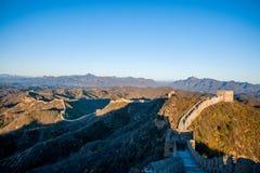 Графство Luanping, Великая Китайская Стена Хэбэя Jinshanling Стоковые Изображения RF