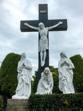 Графство Mayo Ирландия стука крестного пути иллюстрация штока