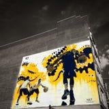 Граффити баскетбола Стоковое Изображение RF