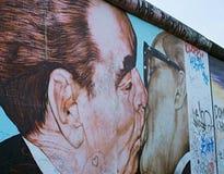Граффити Берлинской стены известные Стоковые Изображения