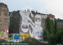 Граффити в Берлине Стоковая Фотография RF
