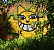 Граффити в Лиссабоне Стоковое фото RF
