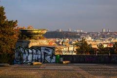 Граффити в парке Letna, Праге Стоковые Изображения
