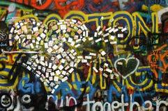 Граффити в Праге Стоковая Фотография RF