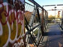Граффити в улицах Стоковое Изображение RF
