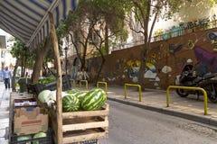 Граффити в Thessaloniki Стоковое Изображение