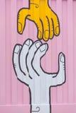 Граффити города Мельбурна Стоковое Изображение