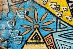 Граффити - искусство улицы - картина Стоковое Изображение