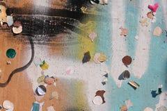 Граффити и фрагменты Стоковое Изображение RF