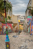 Граффити Лиссабона Стоковое фото RF