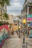 Граффити Лиссабона стоковая фотография rf