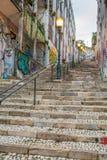 Граффити Лиссабона Стоковые Фотографии RF