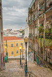 Граффити Лиссабона Стоковое Фото