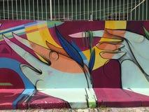 Граффити Сан-Паулу Стоковое Фото