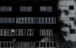 Граффити стены улицы в Минске Беларуси стоковая фотография rf