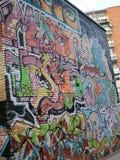 Граффити стены стоковое фото