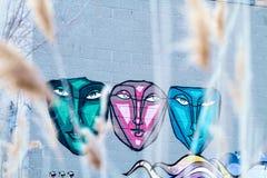Граффити сторон Стоковые Фотографии RF