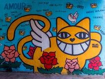 Граффити улицы Стоковое Изображение