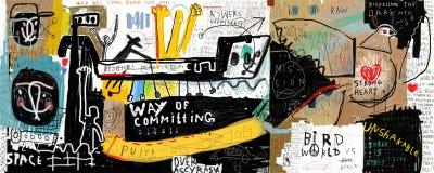 Граффити Стоковое Фото
