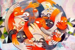 Граффити Стоковые Фотографии RF
