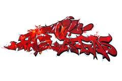 Граффити Стоковая Фотография