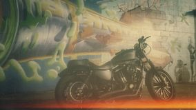 Граффити HD883 Стоковая Фотография