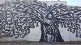 Граффити Lexington KY Кентукки Wallart Стоковое Изображение