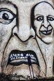 Граффити Scarry Стоковое фото RF
