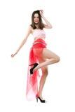 Грациозно молодая дама стоковое изображение rf