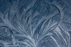 Грациозно образовывая дугу линии в картинах заморозка Стоковые Изображения RF