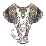 Грациозно слон иллюстрация вектора