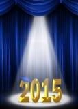 Градация 2015 в фаре бесплатная иллюстрация