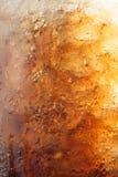 Градиент газированной колы льда Стоковое фото RF
