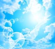 Градуированный шелк летая Стоковая Фотография RF