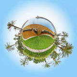 360 градусов Стоковое фото RF