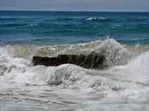 Гребень волны стоковое изображение rf