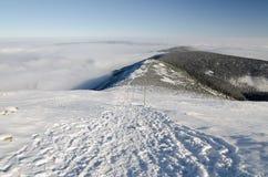 Гребень Obri, гигантские горы, чехия Стоковые Фото