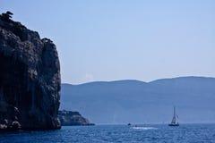 Гребля среднеземноморское Стоковые Изображения RF