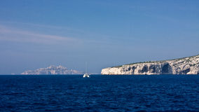 Гребля среднеземноморское Стоковая Фотография RF